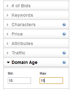 Domain Age Godaddy Auctions